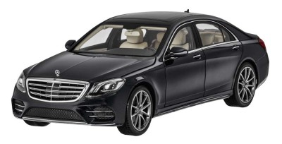 Модель Mercedes-Benz S-Class (V222), Scale 1:18, Obsidian Black