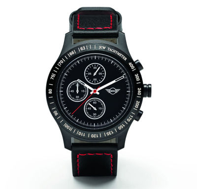 Спортивный хронограф MINI JCW Tachymeter Watch, Black