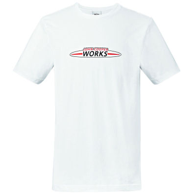 Мужская футболка MINI JCW Logo Men's T-Shirt, White