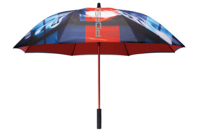 Зонт-трость Porsche Umbrella XL, Martini Racing Collection, Blue/Red/Turquoisee