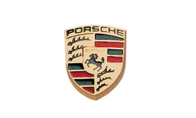 Значок-герб Porsche Crest Badge