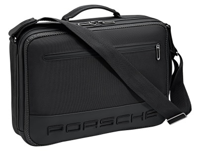 Сумка-рюкзак Porsche 2 in 1 Messenger Bag & Rucksack – 911, Black