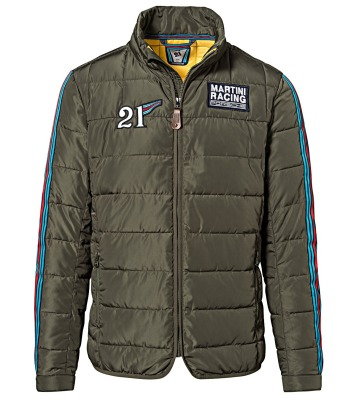 Мужская куртка Porsche Martini Racing Collection, Quilted Jacket, Men, Green