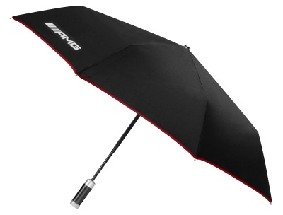 Складной зонт Mercedes-Benz AMG Compact Umbrella, Black
