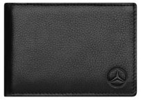 Кожаный кошелек Mercedes Mini wallet, Basic, Black Leather