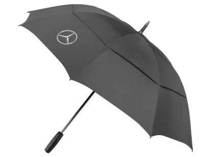 Зонт-трость Mercedes-Benz Golf Stick Umbrella Black