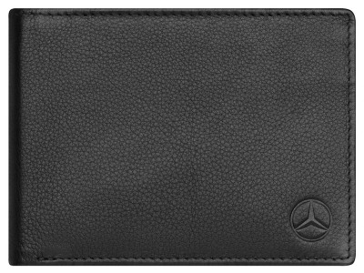Кожаная кредитница Mercedes-Benz Credit Card Case (9 cards), Black