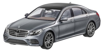Модель Mercedes-Benz S-Class (V222), Scale 1:18, Selenite Grey