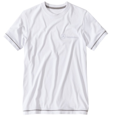Мужская футболка Mercedes Men's T-shirt, Basic, White