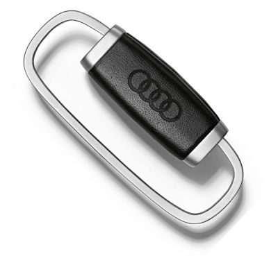 Брелок Audi Key ring steel - leather rings