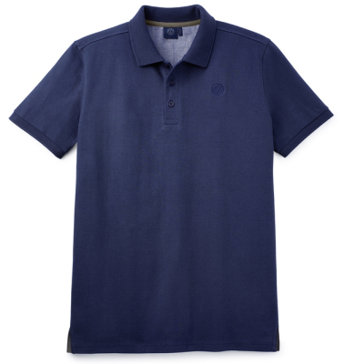 Мужская рубашка-поло Volkswagen Logo Men's Polo Shirt, Dark Blue