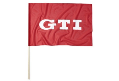 Флаг Volkswagen GTI Flag, Red