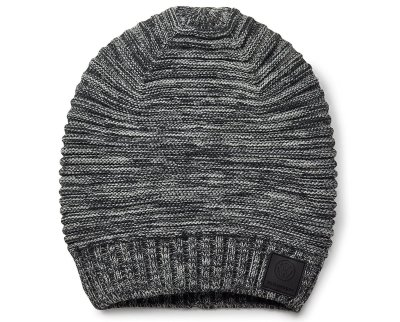 Вязаная шапка унисекс Volkswagen Unisex Knitted Hat, Black/White