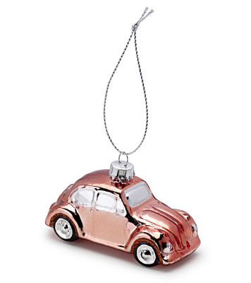 Елочная игрушка Volkswagen Decoration Christmas Beetle, Copper