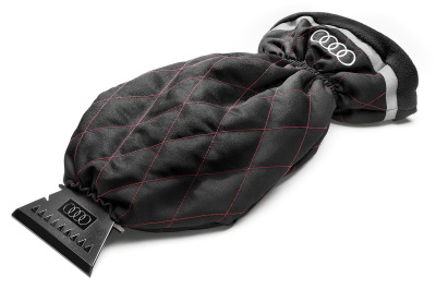 Cкребок с перчаткой Audi Ice Scraper with Glove, Red/Black