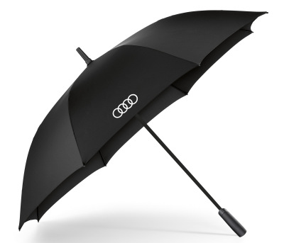 Зонт-трость Audi Rings Stick Umbrella, Big, Black