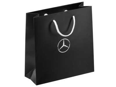 Малый бумажный пакет Mercedes Black Small 2017