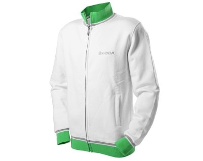 Мужская толстовка Skoda Men's White Sweatshirt, Event Collection
