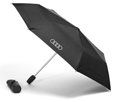 Складной зонт Audi Pocket Umbrella, Small, Black/Titan