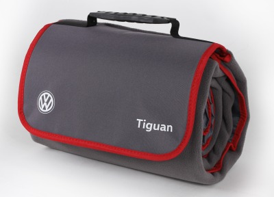 Плед Volkswagen Tiguan Plaid, Grey/Red