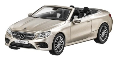 Модель Mercedes-Benz E-Class Cabriolet (A238), AMG Line, Scale 1:43, Aragonite Silver