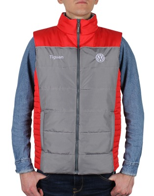 Мужской жилет Volkswagen Tiguan Vest, Men's, Grey/Red