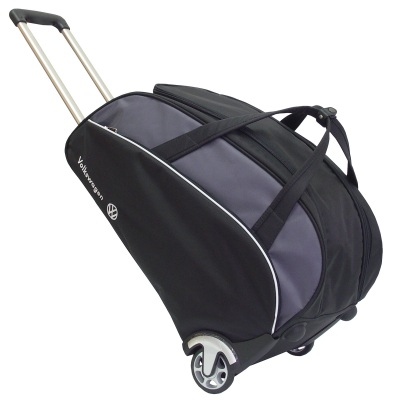 Дорожная сумка на колесиках Volkswagen Trolley Bag, Black/Grey