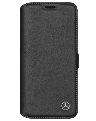 Чехол-книжка Mercedes-Benz Cover for Samsung Galaxy S8, Booktype, Black