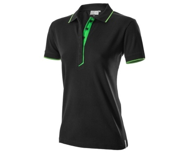 Женская рубашка-поло Skoda Polo Shirt, Women's, Essential Collection, Black/Green