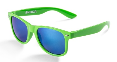 Солнцезащитные очки Skoda Sunglasses Green with Mirror Lenses