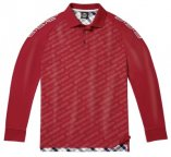 Мужская рубашка-поло Mercedes-Benz Men's Polo Shirt, Classic, Bordeaux
