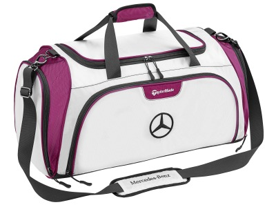 Спортивная сумка Mercedes-Benz Golf Sports Bag, White/Plum