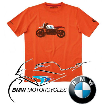 Мужская футболка BMW Motorrad T-shirt Men, R nineT Urban GS, Orange
