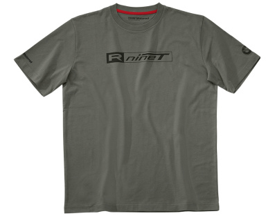 Мужская футболка BMW Motorrad T-shirt Men, R nineT, Grey