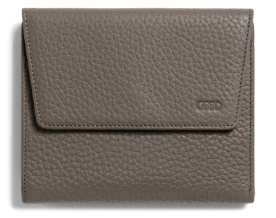 Женское портмоне Audi Wallet Leather Taupe, Womens