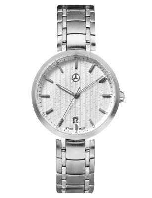 Женские наручные часы Mercedes-Benz Women's Watch, Business Lady, Silver-coloured / White