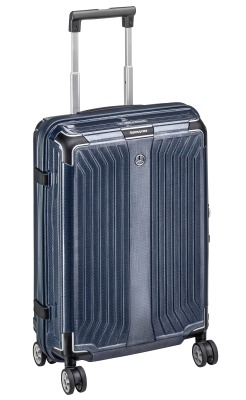 Чемодан для ручной клади Mercedes-Benz Suitcase, Lite Cube, Spinner 55, Denim Blue, by Samsonite