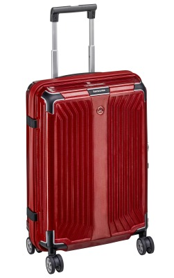 Чемодан для ручной клади Mercedes-Benz Suitcase, Lite Cube, Spinner 55, Hyacinth Red, by Samsonite
