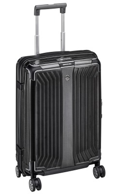 Чемодан для ручной клади Mercedes-Benz Suitcase, Lite Cube, Spinner 55, Black, by Samsonite