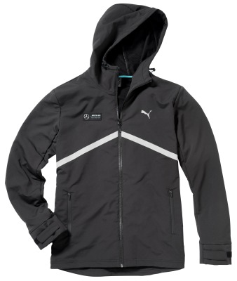 Мужская ветровка Mercedes Men's Windcheater, Black