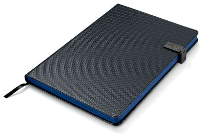 Блокнот BMW M Notebook, Black / Blue