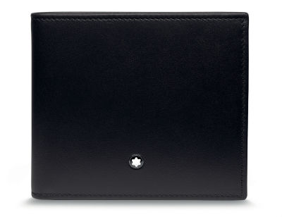 Кожаный кошелек BMW Wallet with Coin Compartment, by Montblanc, Black