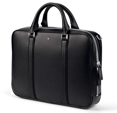 Кожаный портфель BMW Document Bag by Montblanc, Black