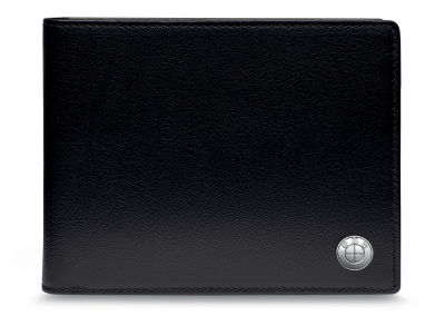 Кожаное портмоне BMW Wallet without Coin Compartment, Black