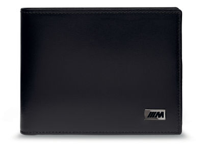 Кожаное портмоне BMW M Wallet without Coin Compartment, Black