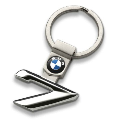 Брелок BMW 7 Series Key Ring, Silver