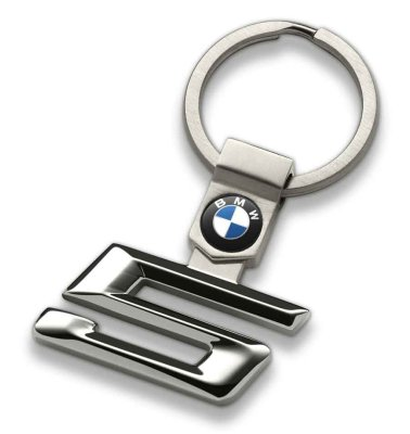 Брелок BMW 5 Series Key Ring, Silver