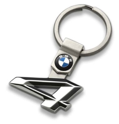Брелок BMW 4 Series Key Ring, Silver