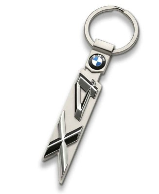 Брелок BMW X4 Key Ring, Silver