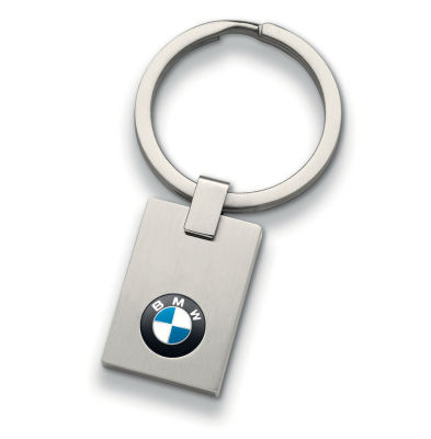 Брелок BMW Logo Key Ring, Small, Silver